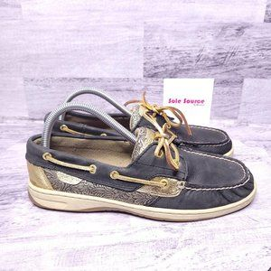Sperry Top-Sider Leather Bluefish Boat Shoe sz 9
